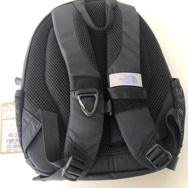 THE NORTH FACE(ザノースフェイス)の新品タグ付き ノースフェイス キッズリュック 8L ブラック 黒 キッズ/ベビー/マタニティのこども用バッグ(リュックサック)の商品写真