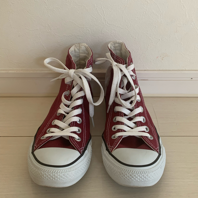 CONVERSE(コンバース)のコンバース オールスター ハイカット マルーン ワインレッド エンジ レディースの靴/シューズ(スニーカー)の商品写真