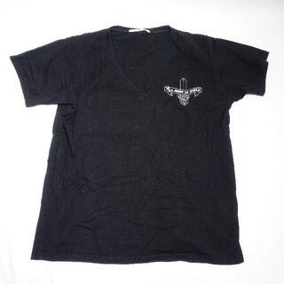 EYEFUNNY - EYEFUNNY 半袖Tシャツ(Vネック) メンズ ブラック