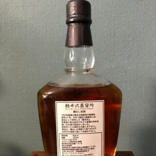 軽井沢蒸溜所   樽出し原酒