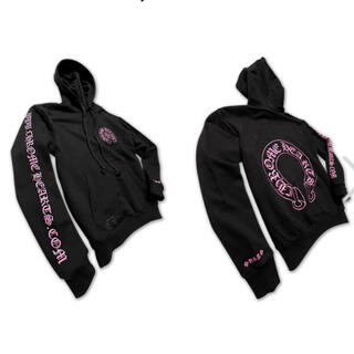 Chrome Hearts - Chrome Hearts Online  Hoodie Black/Pink