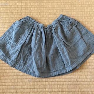 ボンポワン(Bonpoint)のボントン スカート 4ans/100㎝(スカート)