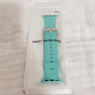 Apple Watch - 【新品未使用】Apple Watchシリコンバンド 38/40mmライトグリーン