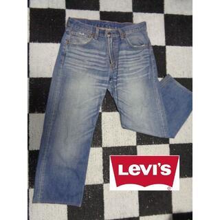 リーバイス(Levi's)の【リーバイス】503W31太目デニムストレートジーンズ古着加工(デニム/ジーンズ)