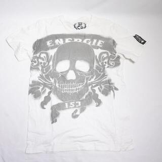 エナジー(ENERGIE)のEnergie 半袖Tシャツ メンズ ホワイト(Tシャツ/カットソー(半袖/袖なし))