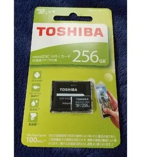 トウシバ(東芝)の東芝 マイクロSDカード 256GB(その他)