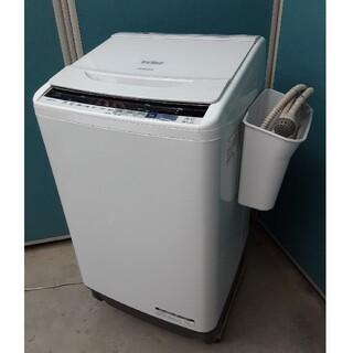 ヒタチ(日立)の2018年美品 日立10kg全自動洗濯機 ビートウォッシュ BW-V100BE5(洗濯機)