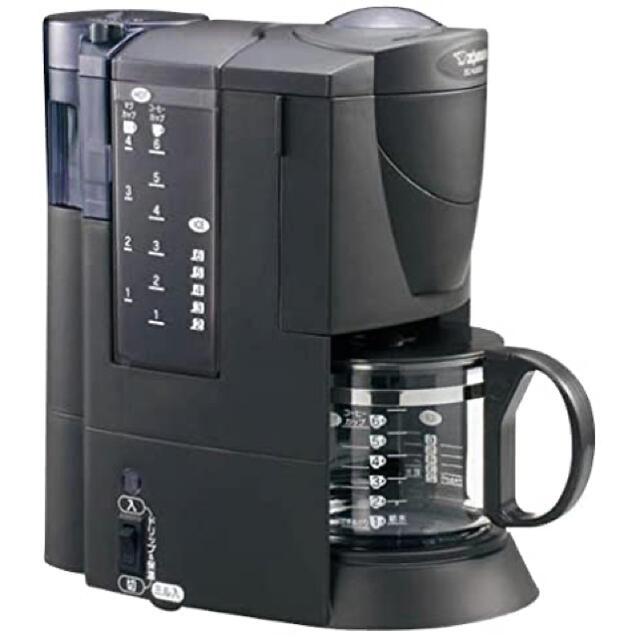 象印(ゾウジルシ)の象印/ZOJIRUSHI/コーヒーメーカー/EC-VL60-BA/新品 スマホ/家電/カメラの調理家電(コーヒーメーカー)の商品写真