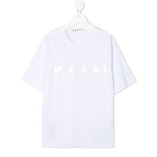 マルニ(Marni)の⭐1点限り!2021SS/新品 MARNI   メタリックロゴ Tシャツ 12y(Tシャツ(半袖/袖なし))