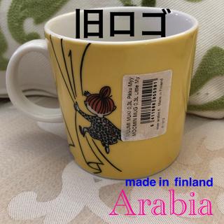 ARABIA - 廃盤 旧ロゴ アラビアムーミン『黄色ミイ』フィンランド製 マグカップ