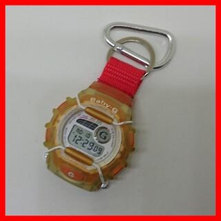 ベビージー(Baby-G)のCASIO Baby-G BGX-130 カラビナ ストップウォッチ 電池交換 (腕時計)