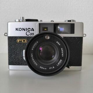 コニカミノルタ(KONICA MINOLTA)のKONICA コニカ C35 FD (フィルムカメラ)