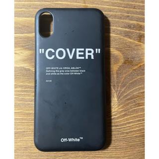 ■OFF-WHITE■ iPhone XSケース