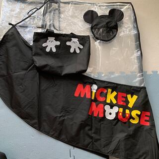 ディズニー(Disney)のDisney ベビーカー レインカバー(ベビーカー用レインカバー)
