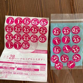 ヤマザキセイパン(山崎製パン)の山崎パン 春のパンまつりシール 1皿と24点(その他)