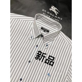 BURBERRY - 新品【日本製】バーバリーブラックレーベル 半袖シャツ3