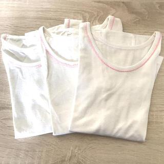 ファミリア(familiar)のファミリア、インナー肌着(半袖) 3枚セット(下着)