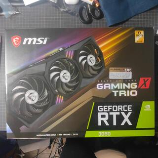 RTX3080 MSI GAMING TRIO グラフィックボード