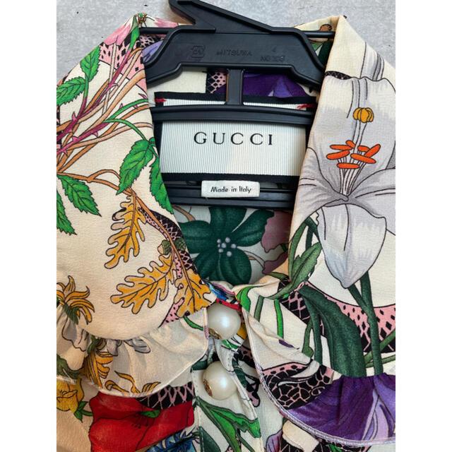 Gucci(グッチ)のGUCCI ワンピース レディースのワンピース(ミニワンピース)の商品写真