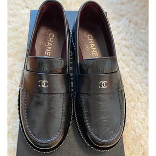 シャネル(CHANEL)のシャネルレースアップローファー(ローファー/革靴)