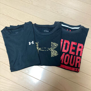 UNDER ARMOUR - アンダーアーマー Tシャツ YLG150  3点セット