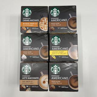 スターバックスコーヒー(Starbucks Coffee)のネスカフェ ドルチェグスト カプセル Starbucks(コーヒー)