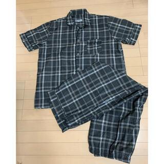 新品未使用 洗濯のみ メンズパジャマ XXL 上下セット