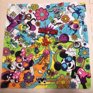 ディズニー(Disney)のディズニー バンダナ カラフル ミッキー ミニー ドナルド デイジー(キャラクターグッズ)