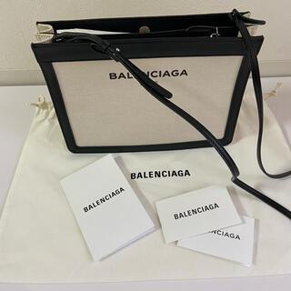 Balenciaga - 【美品】バレンシアガ 《ネイビーポシェット キャンパス》
