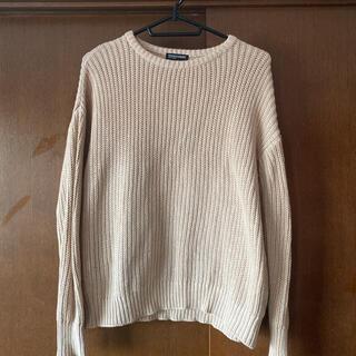 アメリカンアパレル(American Apparel)のAmerican apparel ベージュセーター(ニット/セーター)