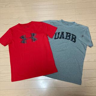 UNDER ARMOUR - アンダーアーマー Tシャツ YXL160  2点セット