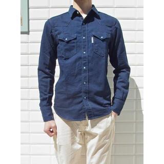 ブルーブルー(BLUE BLUE)のBLUE BLUE / ST1839 アスペロデニム ウエスタンシャツ(シャツ)