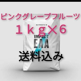 マイプロテイン(MYPROTEIN)の【新品未開封】EAA 1kg✕6(マイプロテイン)(アミノ酸)