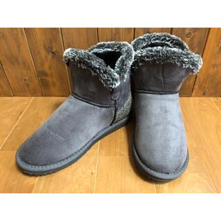 シマムラ(しまむら)の【しまむら】Harris Tweedコラボ 中綿ブーツ レディース LLサイズ(ブーツ)