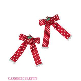 アンジェリックプリティー(Angelic Pretty)のLittle StrawberryクリップSet(各種パーツ)