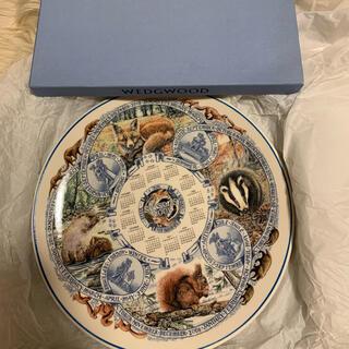 ウェッジウッド(WEDGWOOD)の【未使用】ウェッジウッド 大皿 シーズンプレート 2005(食器)