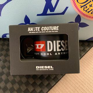 ディーゼル(DIESEL)のDIESEL メッセージが書けるマグカップ(グラス/カップ)