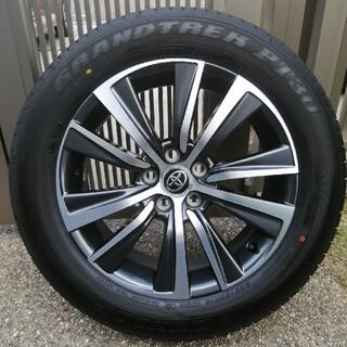 トヨタ - 【美品】80系新型ハリアー  Gグレード純正 18インチホイール タイヤ 4本