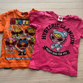 ヒステリックミニ(HYSTERIC MINI)のTシャツセット(Tシャツ/カットソー)
