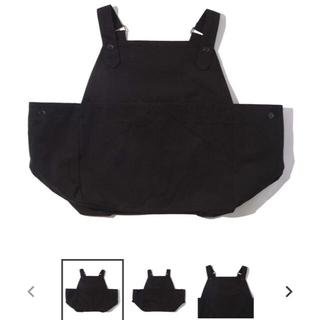 break coffee / bar  vest apron black