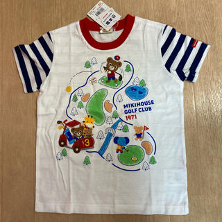 mikihouse - ミキハウス☆プッチーゴルフワッペンTシャツ☆110