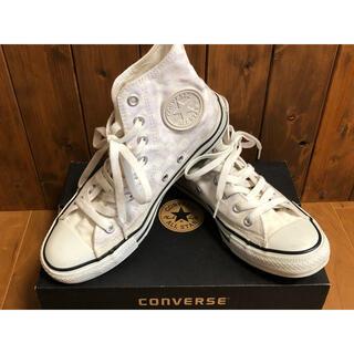 CONVERSE - 【converse】 All STAR MD HI WHITE 25cm 箱付