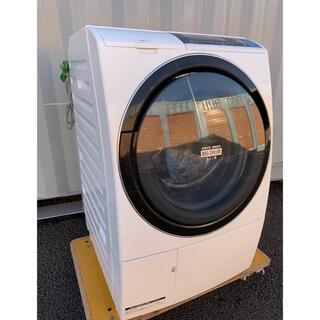 ヒタチ(日立)のHITACHI ドラム式洗濯乾燥機 ビッグドラムスリム 10kg /6kg(洗濯機)