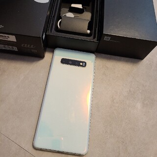 SAMSUNG - Galaxy S10+ Prism ホワイト 128GB