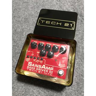 TECH 21    SANSAMP(ベースエフェクター)