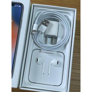 Apple - ☆新品未使用☆Apple  iPhone 純正品 イヤホン 充電器セット