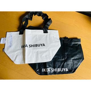 IKEA - IKEA 渋谷店限定 SLUKIS エコバッグ  【Sサイズ2色セット】⑥