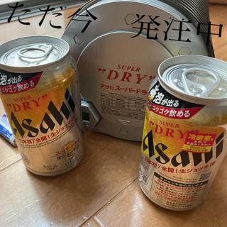 アサヒ - アサヒSドライ生ジョッキ缶と急冷機のセット