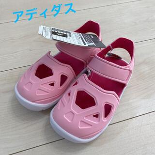 アディダス(adidas)のアディダス サンダル  ピンク 16cm(サンダル)