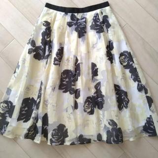 ジャスグリッティー(JUSGLITTY)のジャスグリッティー 花柄 スカート(ひざ丈スカート)